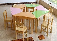 幼儿园学前班桌椅