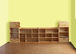 幼儿园书架设计