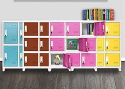 教室书包柜