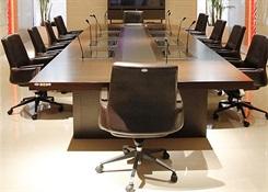 多功能电子系统油漆会议桌