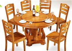 中式饭店餐桌