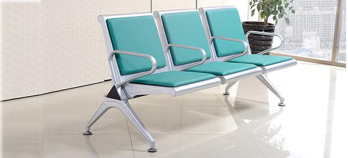 三人候诊椅-品源医院家具
