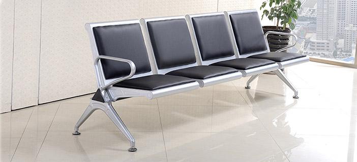 四人候诊椅-品源医院家具