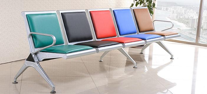 五人候诊椅-品源医院家具