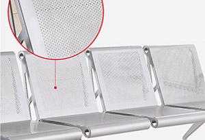 不锈钢候诊椅价格-品源医院家具