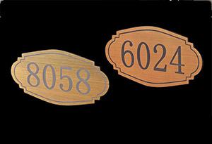 更衣柜上的号码牌-品源医院家具