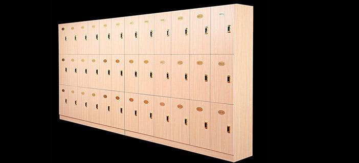 医院木质更衣柜-品源医院家具