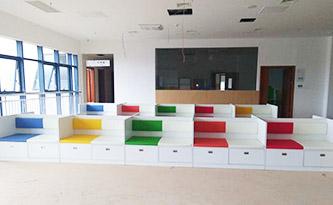 西皮候诊椅-品源医院家具