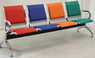 三位候诊椅-品源医院家具