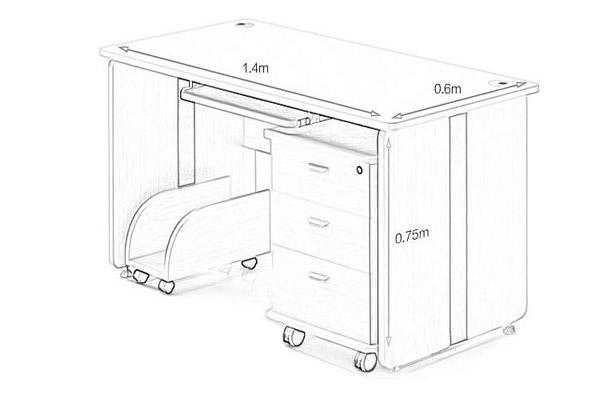 医生办公桌尺寸