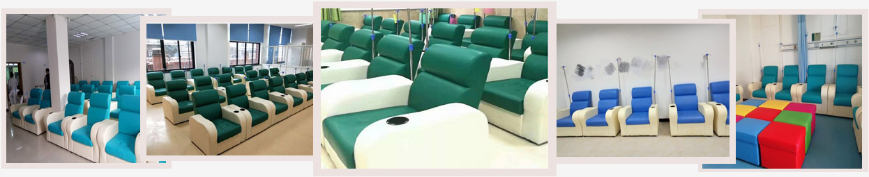 医院候诊椅案例-品源医院家具