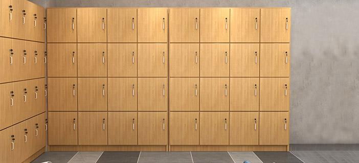 手术室木质更衣柜