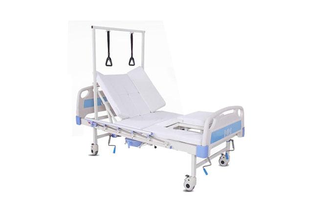 手动医疗护理床―医院手动护理床