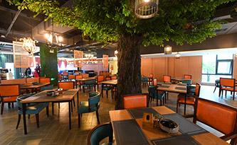 酒店餐厅桌椅-品源酒店家具