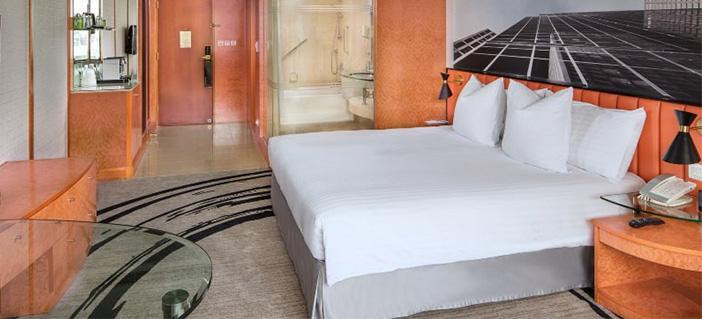 酒店双人床样式