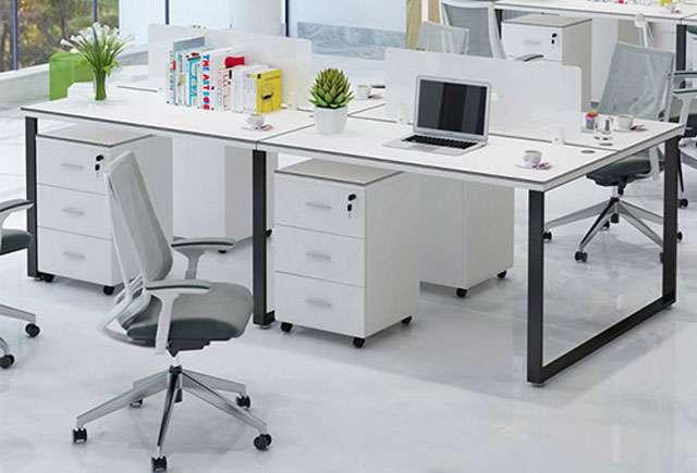 长排办公桌
