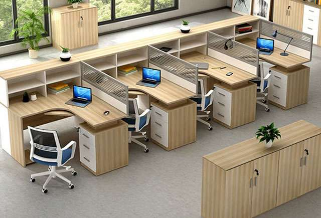办公隔断办公桌