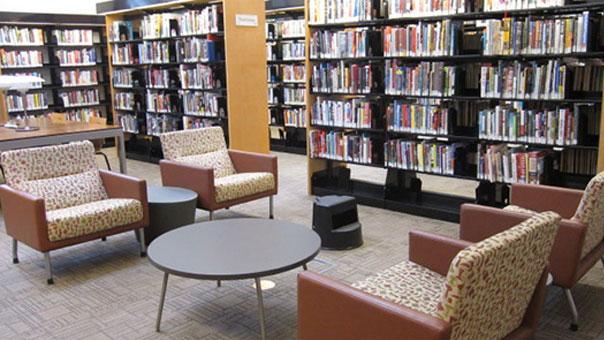 社区图书室家具方案