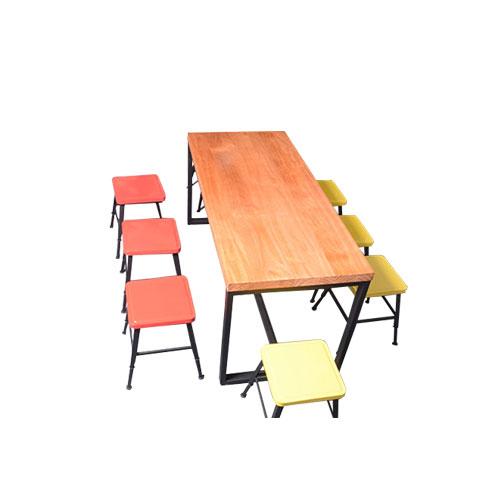 阅览室桌子