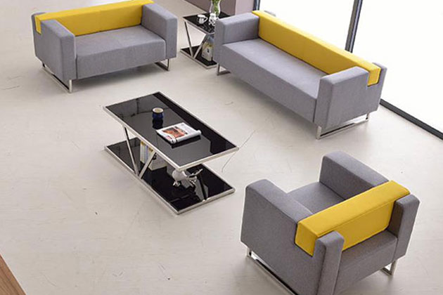 18bet灰色布艺沙发