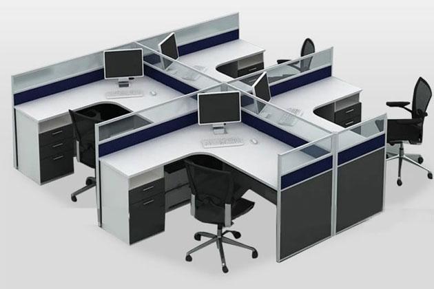 员工桌隔断