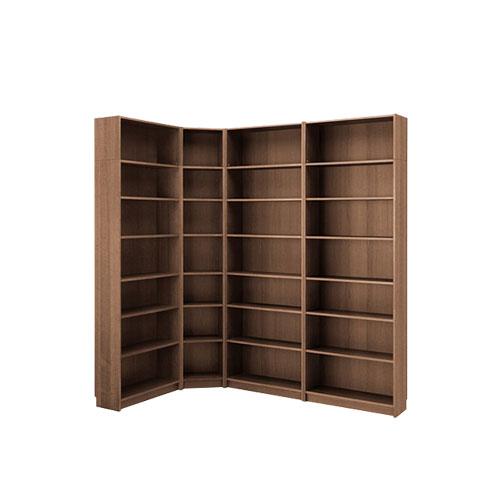 图书馆木质书架