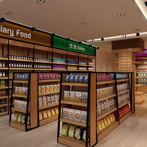 上海便利店货架定制案例