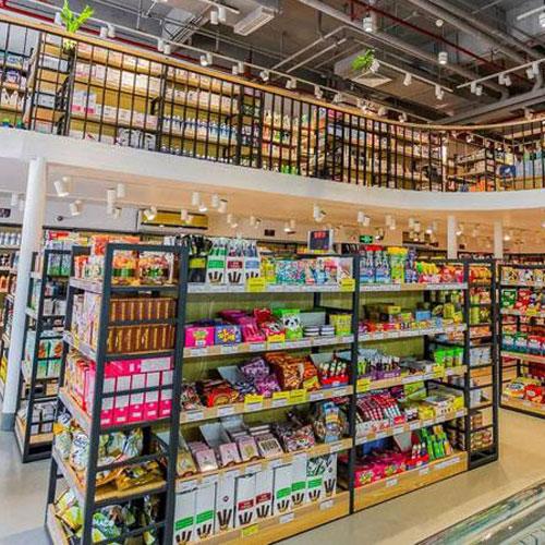 上海连锁超市货架定制案例