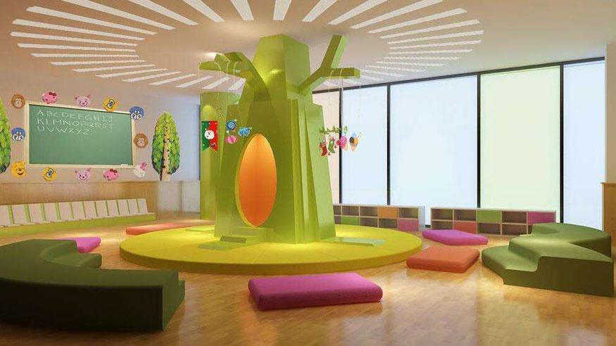 幼儿园家具展厅
