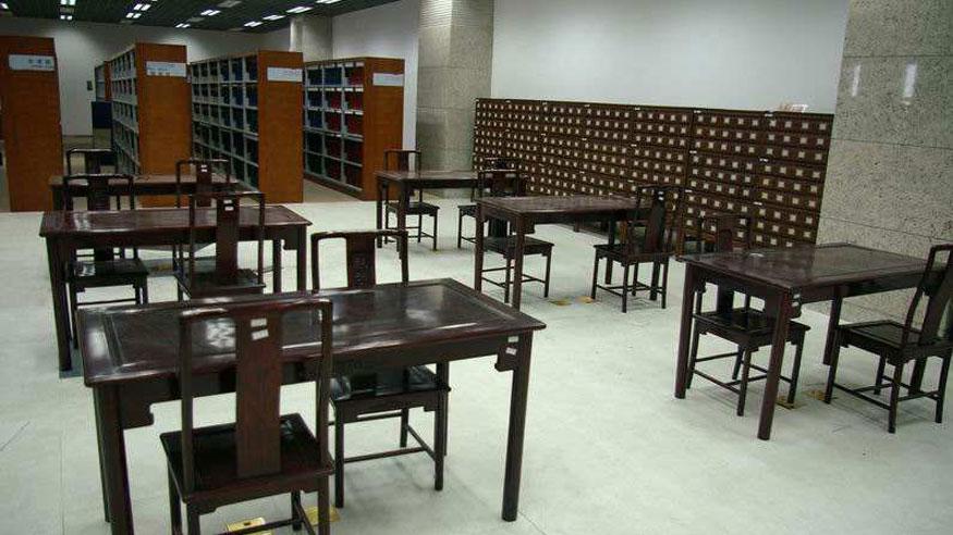 图书馆家具展厅