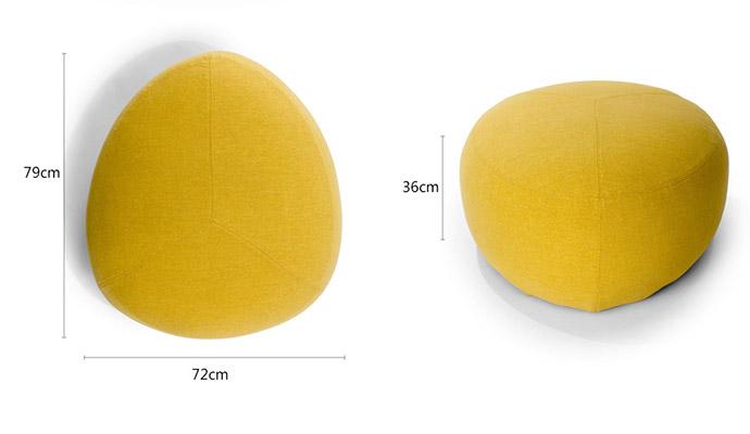 休闲沙发尺寸