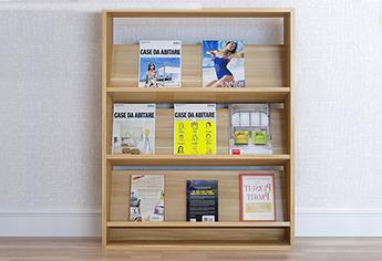 阅览室书架