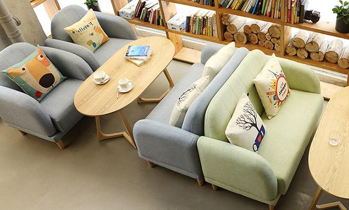 书咖休闲桌椅