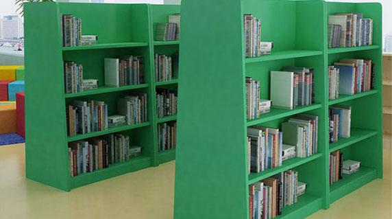 儿童图书馆书架特点