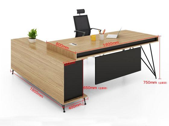 经理办公桌尺寸图