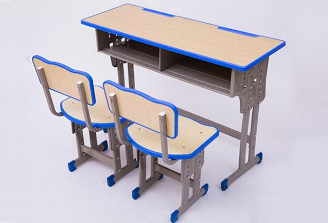 幼儿园双人课桌椅_幼儿园可升降双人课桌椅