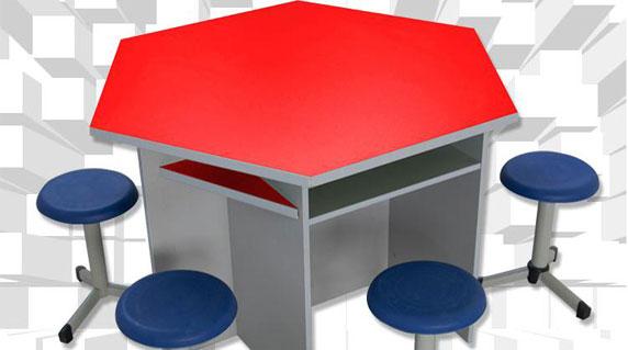计算机实训室课桌椅设计