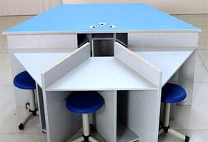 计算机教室课桌椅桌面封边设计