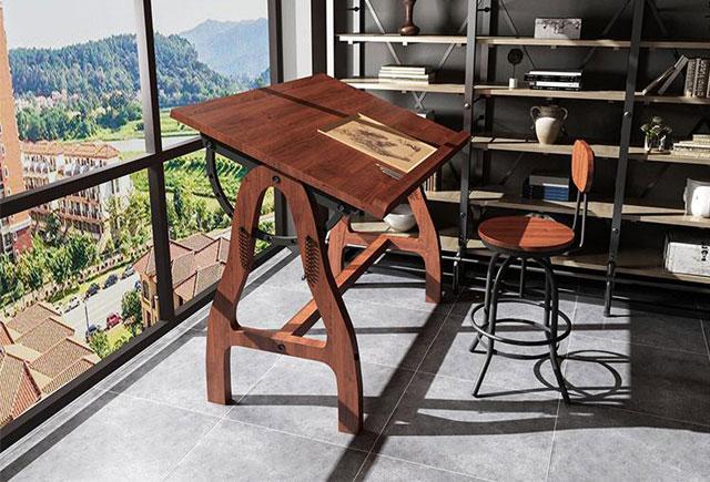美術培訓班桌子—書法繪畫桌椅—美術教室桌椅