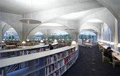 上海崇明区图书馆办公室布置