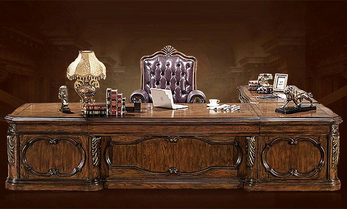 总裁董事长办公桌-总裁董事长办公室家具