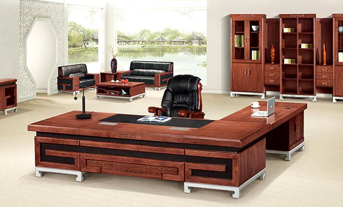 中式董事长办公室桌子_中式董事长办公室家具
