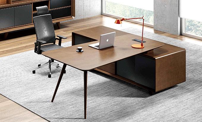 拐角办公桌-经理室拐角办公桌-拐角办公桌尺寸