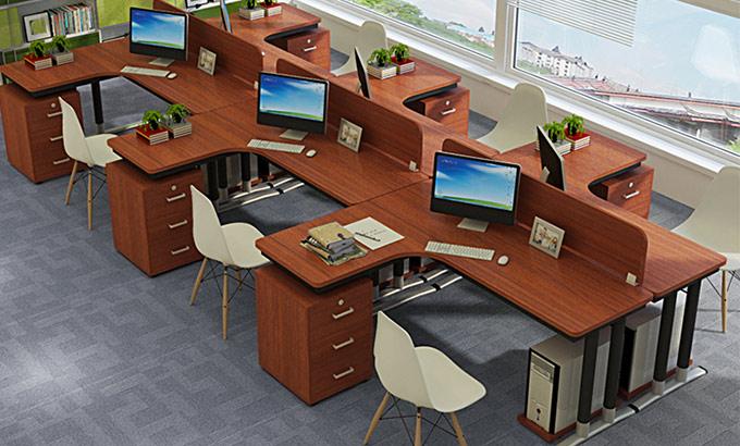 六人办公桌-六人桌办公-上海六个人的办公桌