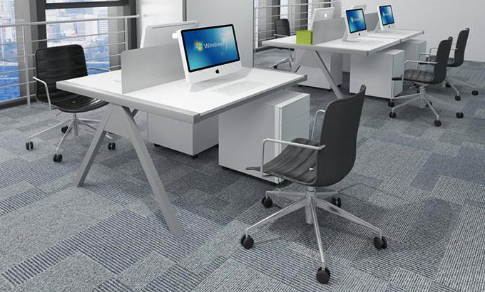 钢木办公桌-钢木结构办公桌图片-钢木结构办公桌图片及材质说明