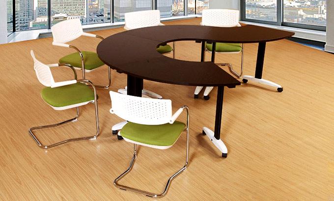 环形办公桌-半环形的办公桌-环形办公桌设计