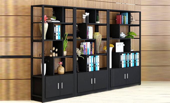 办公室组合书柜-办公室书柜