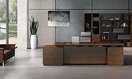 现代经理办公桌实木办公大班台