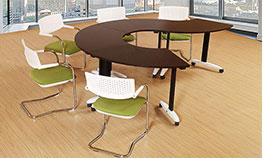环形办公桌【工位办公桌】