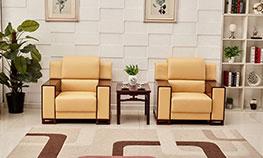 中式单人沙发椅【接待椅系列】